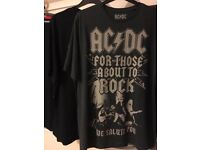 Mens T-Shirts And Sweatshirt XXL Brand New Guns N' Roses ~ ACDC ~ Nike & More