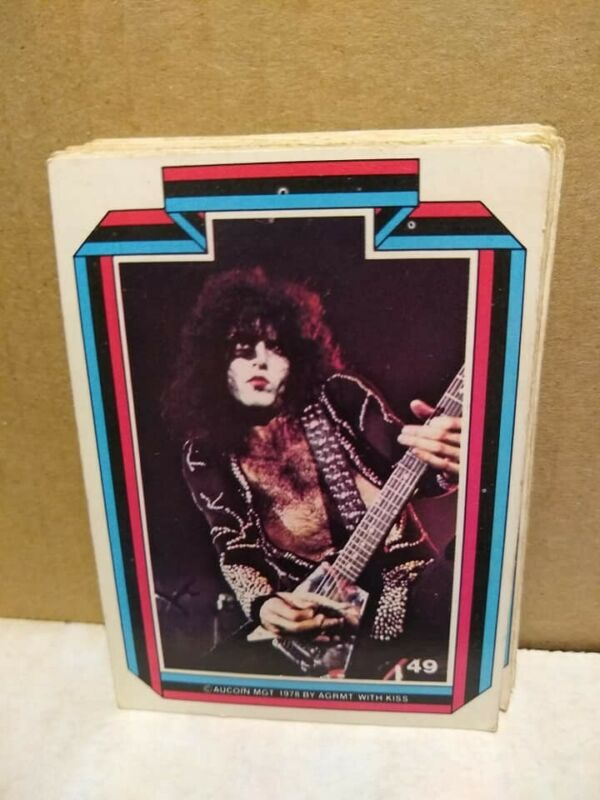 1978 Kiss trading cards, Aucoin MGT, ALL KISS LISTED BELOW!!!!!!  Puzzle cards!