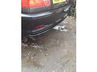 BMW e46 rear bumber coupe convertible 3 series breaking parts