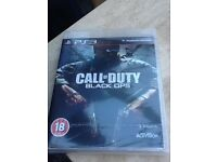 PS3 game brand new sealed black ops call of duty