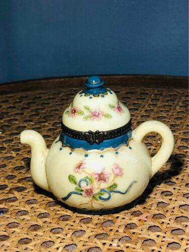 """Teapot Trinket Box, 3"""""""
