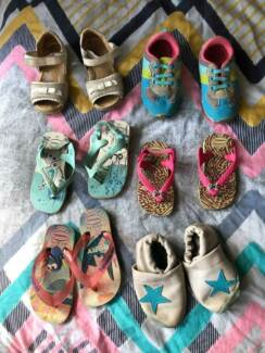 Havianas baby shoes and leather sandals!
