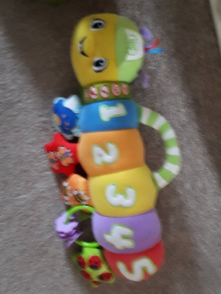 Leap frog Caterpillar for pushchair or cot