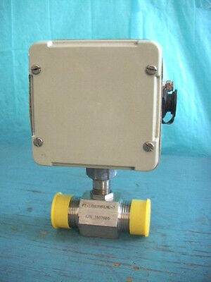 Egg Flow Technology Ca03-3-c-0000-6 1 Turbine Flow Meter Extreme Environment