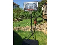 Baskettball Hoop full size Lifetime brand- good condition