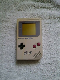 Grey Dmg Gameboy