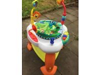 Bright starts activity centre and bouncer jumperoo