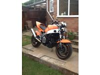 Fzr 1000 1990 street fighter project