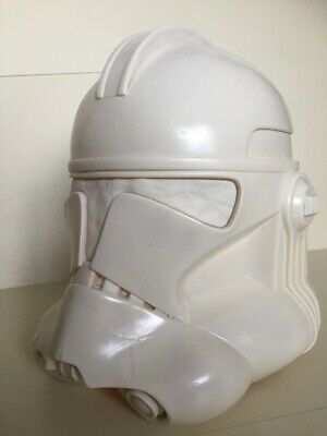 Star Wars 1.1 Clone Trooper Helmet Phase II Film Prop Replica Life Size