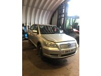 TOYOTA AVENSIS PETROL CARS WANTED FOR SCRAP £250 MINIMUM CASH PAID ON COLLECTION