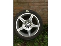 17 inch MERCEDES ALLOY WHEEL WITH TYRE