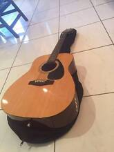 Acoustic Guitar w/ Soft Carry Case - Yamaha F310P Palmwoods Maroochydore Area Preview