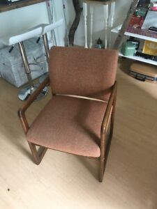 Retro teak chair