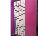 Pink HP mini laptop
