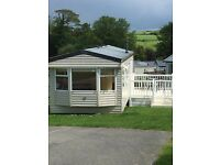 HOLIDAY CARAVAN AT TREVELLA PARK, NEWQUAY CORNWALL