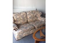 G Plan High backed 2 seater settee and 2 matching Armchairs. Very, very comfortable