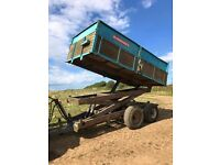 Ransomes high tip trailer