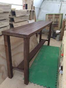 New 2 metre Bar Table with foot rest Nerang Gold Coast West Preview