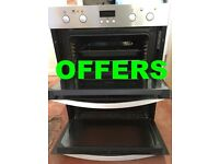 ZANUSSI ELECTRIC COOKER MODEL ZOF35712XK & HOB MODEL ZEI6840FBV EXCELLENT CONDITION