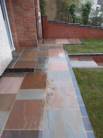 Driveway patio flagging indian stone tarmac concrete Gardening and Landscaping cheap free quotes