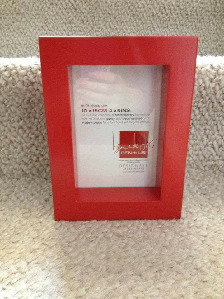 1 x Red Picture Frame - New and still in box | in East End, Glasgow ...