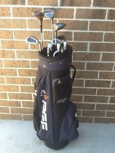 PGF golf clubs and bag, RH. Kilsyth Yarra Ranges Preview
