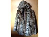 Top shop ladies size 12 coat