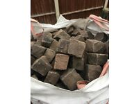 4 and 8 inch Granite sets / cobbles in clean excellent condition