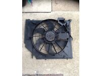 BMW e46 electric cooling fan coupe convertible parts available 318ci n42 330ci m54b30 323ci m52b25