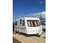 Elddis Avante 475/5 Berth Caravan with Porch Awning & Accessories - 2001