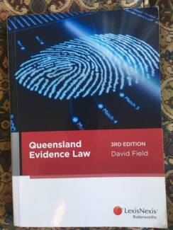 Law textbook - Queensland Evidence Law