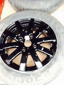 Alloy wheels for a Citroen/ Peugeot