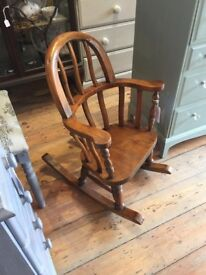 Cute child's Rocking chair.
