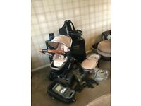 iCandy Peach 3 Butterscotch Travel System Complete