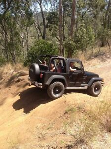 Jeep Wrangler tj Kearneys Spring Toowoomba City Preview