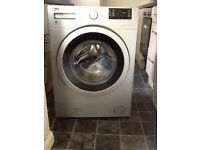 Beko - Silver Grey Washing Machine - Used once a week for 32 weeks- Model WS832425S