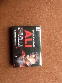 Muhammad Ali -6 dvd box set - never opened