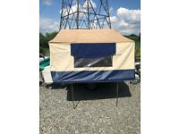 Cabanon Trailer Tent with awning