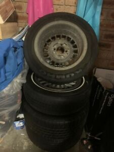 Fiat mag wheels with bolts