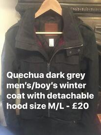 Boys/Men's winter coat size M/L