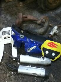 JOB LOT OF MOTOCROSS SPARES RM RMZ YZ 85 WILL POST