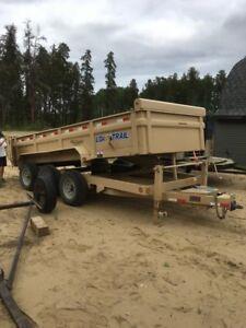 3 axle dump trailer