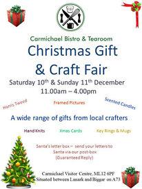2 Day Christmas Fair. Saturday 10th & Sunday 11th December 11-4 FREE ENTRY, FREE PARKING