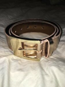 BNIIB Rose Gold Micheal Kors Belt size XL