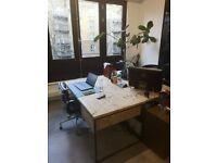 Designer wooden desk