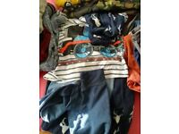 Bundle of boys clothes more than 35 items 3-5 years old m&s,Next etc