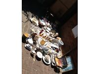 Massive amount of goods for car boot etc