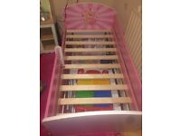 girls bed frame for sale !! £50 only