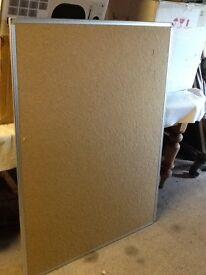 Large Cork Pin Notice Board