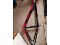 on-one carbon frame